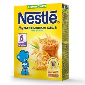 Nestle Каша Безмолочная Мультизлаковая 200 г. с 6 месяцев