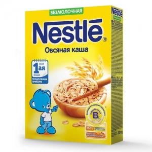Nestle каша Безмолочная Овсяная 200 г. с 5 месяцев