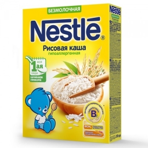 Nestle Каша Безмолочная Рисовая Гипоаллергенная 200 г. с 4 месяцев