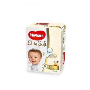 HUGGIES Elite Soft подгузники  № 4 (8-14 кг) 19 шт.