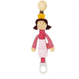 40098 Sigikid Мягкая игрушка-держатель для пустышки Кукла-Принцесса
