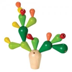 PLAN TOYS Деревянная игрушка Головоломка-Балансирующий кактус 4101