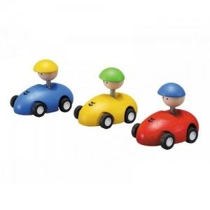 PLAN TOYS Деревянная игрушка Гоночная машинка 4314