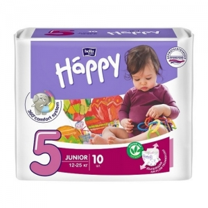 Подгузники Happy Junior 5 (12-25 кг) 10 шт