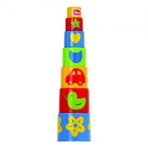453-10 GOWI Ведерко-пирамидка, 11 предметов
