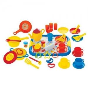 454-39 GOWI Большой детский кулинарный набор (52 предмета)