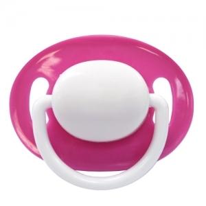 LUBBY Соска-пустышка силиконовая, форма: классический сосок  , кольцо 3+ мес 4640