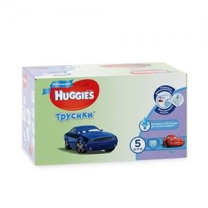 Трусики-подгузники HUGGIES для мальчиков DISNEY Box №5 (13-17 кг) 96 шт.
