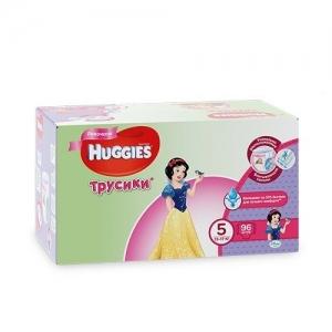Трусики-подгузники HUGGIES для девочек DISNEY Box №5 (13-17 кг) 96 шт.