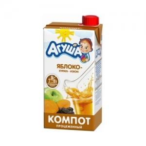 """""""Агуша"""" 500 мл. компот Изюм-Курага-Яблоко"""