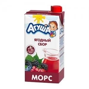 """""""Агуша"""" 500 мл. морс Ягодный сбор"""