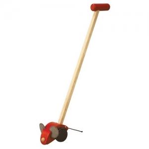 PLAN TOYS Деревянная игрушка Каталка-Мышка 5167