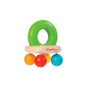 PLAN TOYS Деревянная игрушка Погремушка Шарики 5213