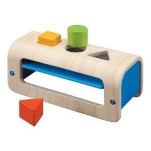 PLAN TOYS Деревянная игрушка Геометрическая сортировка 5352