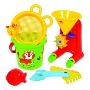 558-39 GOWI Набор для игры с песком и водой  (6 предметов)