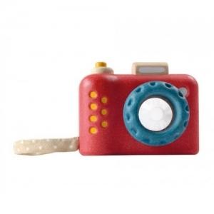 PLAN TOYS Деревянная игрушка Погремушка- Первая фотокамера, калейдоскоп 5633