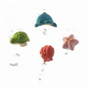 PLAN TOYS Деревянная игрушка Набор для игры в воде Морская жизнь 5658