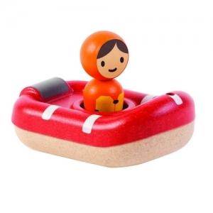PLAN TOYS Деревянная игрушка Катер береговой охраны 5668