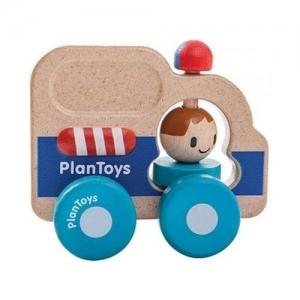 PLAN TOYS Деревянная игрушка Спасательная машина 5686