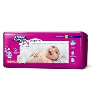 Пелёнки детские одноразовые Helen Harper Baby (60*90) 10 шт.