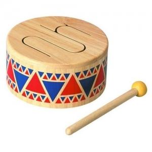 PLAN TOYS Деревянная игрушка Твёрдый барабан 6404