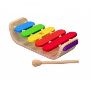 PLAN TOYS Деревянная игрушка Ксилофон овальный 6405