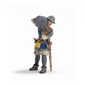 Воин-пехотинец с камнем, жёлтый (Foot-soldier with stone) 70053