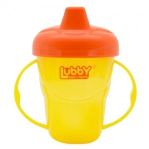 "LUBBY Поильник-непроливайка с ручками ""Классика""  6+ мес. 175 мл 7293 ."