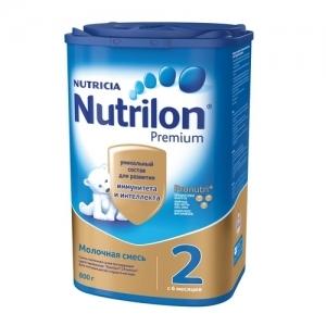 """""""Nutrilon 2"""" сухая Молочная смесь с 6 месяцев 800 г."""