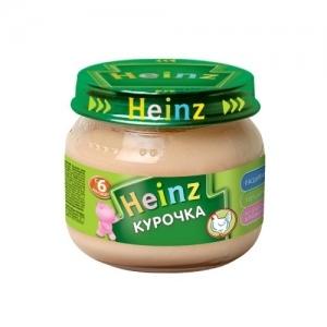 """Heinz"" пюре Курочка с 6 месяцев 80 г."