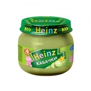 """""""Heinz"""" пюре Кабачки с 4 месяцев 80 г."""