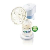 AVENT Молокоотсос электронный BPA free с контейнером 125 мл.84480