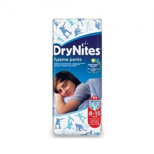 Трусики HUGGIES Dry Nites Pyjama Pants для мальчиков 8-15 лет (27-57 кг) 9 шт.