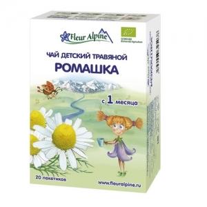 """Fleur Alpine"" ORGANIC чай Ромашка с 1 месяца"