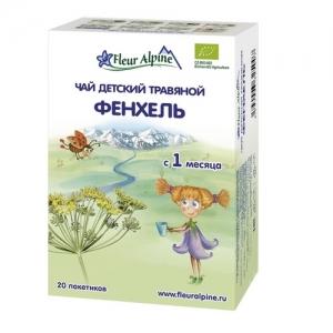 """Fleur Alpine"" ORGANIC чай Фенхель с 1 месяца"