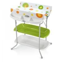 """""""CAM""""Bagno Art.C615 Пеленальный стол с ванночкой и полочками салатовый-желтый 197"""