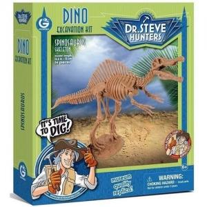"""CL1668 K GEOWORLD Dr.Steve Набор для проведения раскопок """"Спинозавр"""""""
