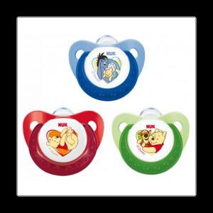 """""""NUK"""" Disney baby Соска -пустышка силиконовая ортодонтической формы 0-6 мес 10729919"""