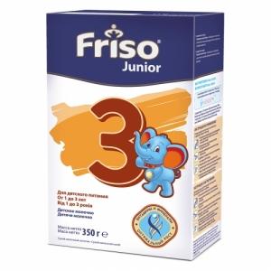 Frisolac Junior 3 сухой молочный напиток с 1 года 350 г.
