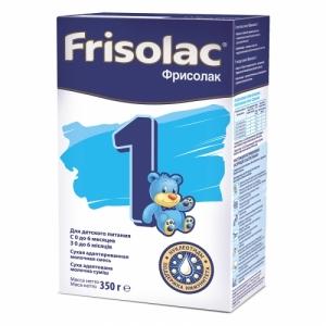Frisolac Фрисолак 1 молочная смесь с рождения до 6 месяцев 350 г.