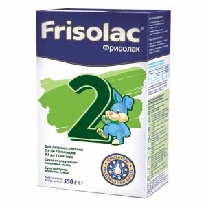 Frisolac Фрисолак 2 молочная смесь с 6 месяцев 350 г.