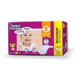 Подгузники Helen Harper Baby  №5 (11-25 кг) 40 шт.