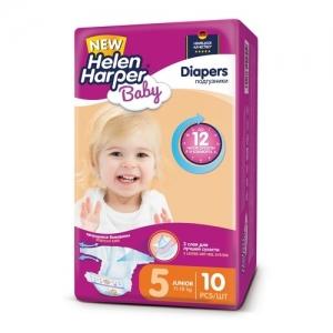 Подгузники Helen Harper Baby  №5 (11-25 кг) 10 шт.
