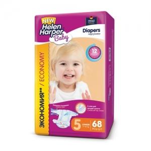 Подгузники Helen Harper Baby  №5 (11-25 кг) 68 шт.