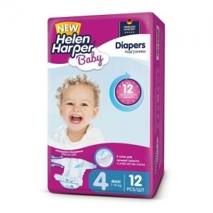 Подгузники Helen Harper Baby №4 (7-18 кг) 12 шт.