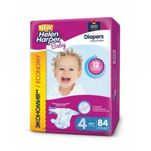 Подгузники Helen Harper Baby  №4 (7-18 кг) 84 шт.