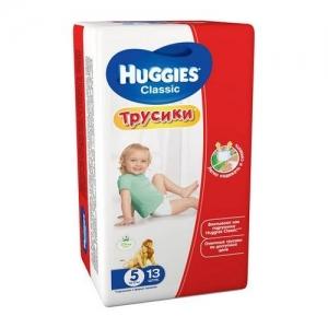 HUGGIES трусики-подгузники Classic Small-Pack №5 (13-17 кг) 13 шт.