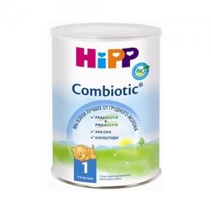 """""""HiPP Combiotic BIO 1"""" сухая адаптированная молочная смесь с Рождения до 6 месяцев 350 г."""