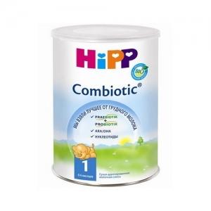 """""""HiPP Combiotic BIO 1"""" 800 г. сухая адаптированная молочная смесь с Рождения до 6 месяцев"""