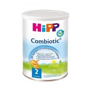 """""""HiPP Combiotic BIO 2"""" сухая адаптированная последующая молочная смесь с 6 месяцев 350 г."""